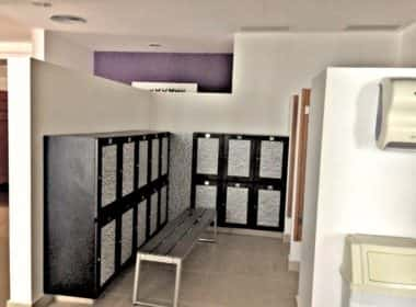 womans locker and sauna #2